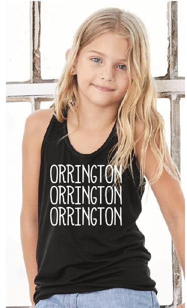 Orrington Flowy Racerback Tee