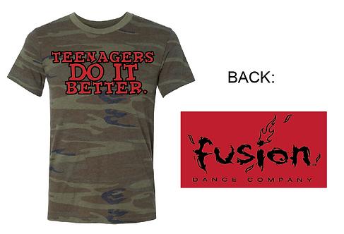 Fusion Teenagers Camo Tee