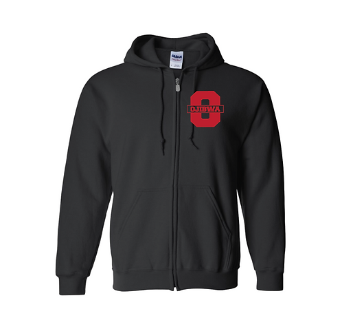 Ojibwa Full Zip Sweatshirt