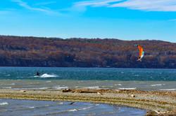 Myers Point Kite Sailor