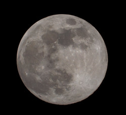 Full Moon from Ithaca