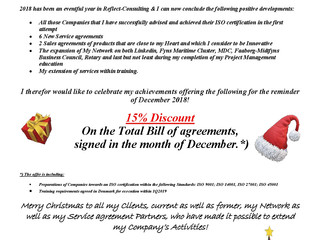 Christmas Greeting and a Happy New Offer!
