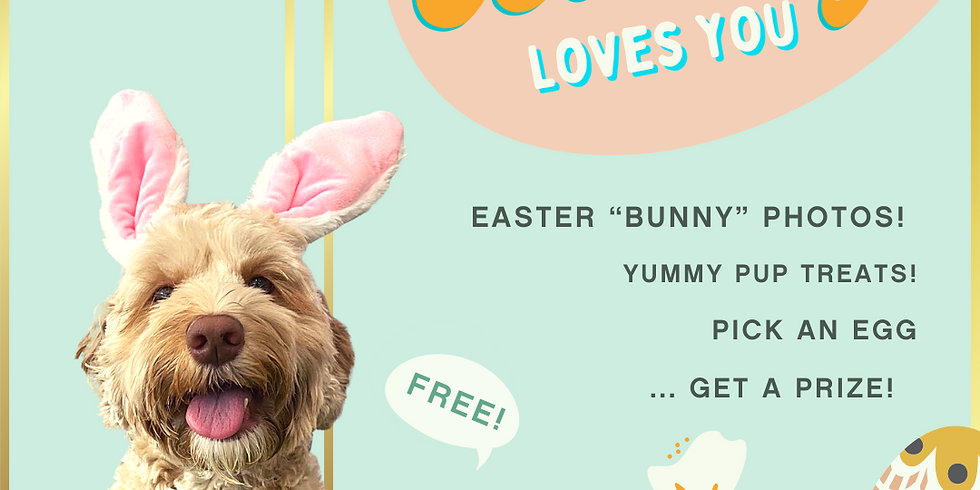 Some Bunny Loves You! March 27-28