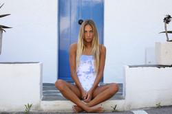 Swimsuit Corinne Blue Maltinto