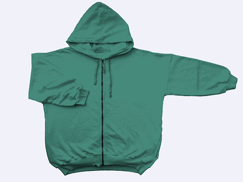 JACKET FELPA BASIC MENTA
