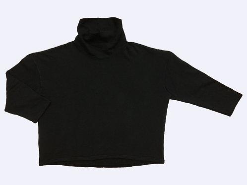 SUDADERA CISNE FELPA BASIC BLACK