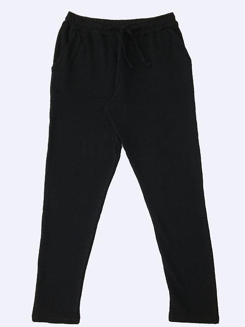 PANTS FELPA BASIC BLACK