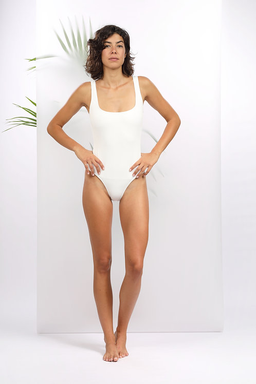 SWIMSUIT JEANNE CANALE WHITE