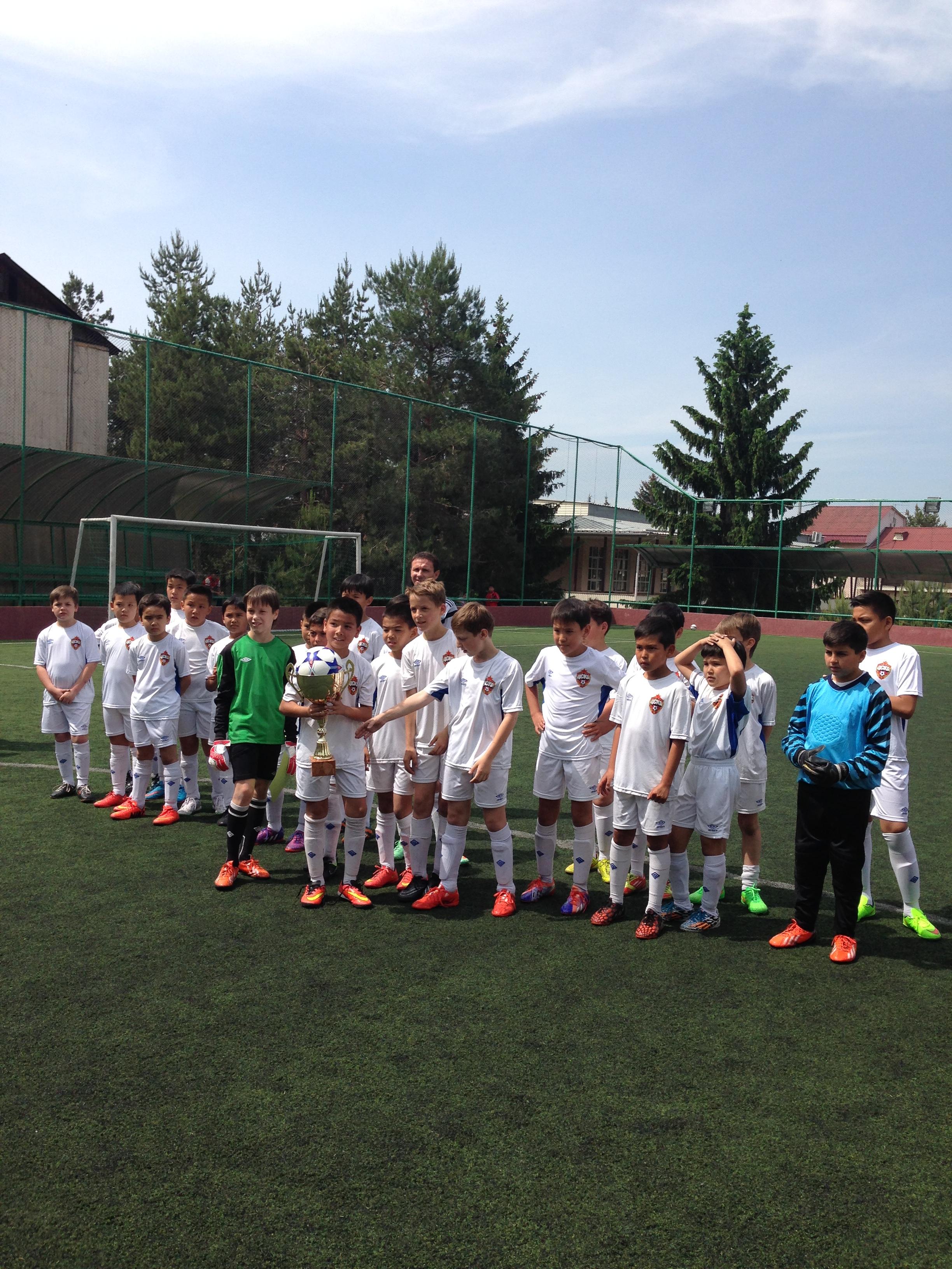 10 мая команда ЦСКА-Баганашыл
