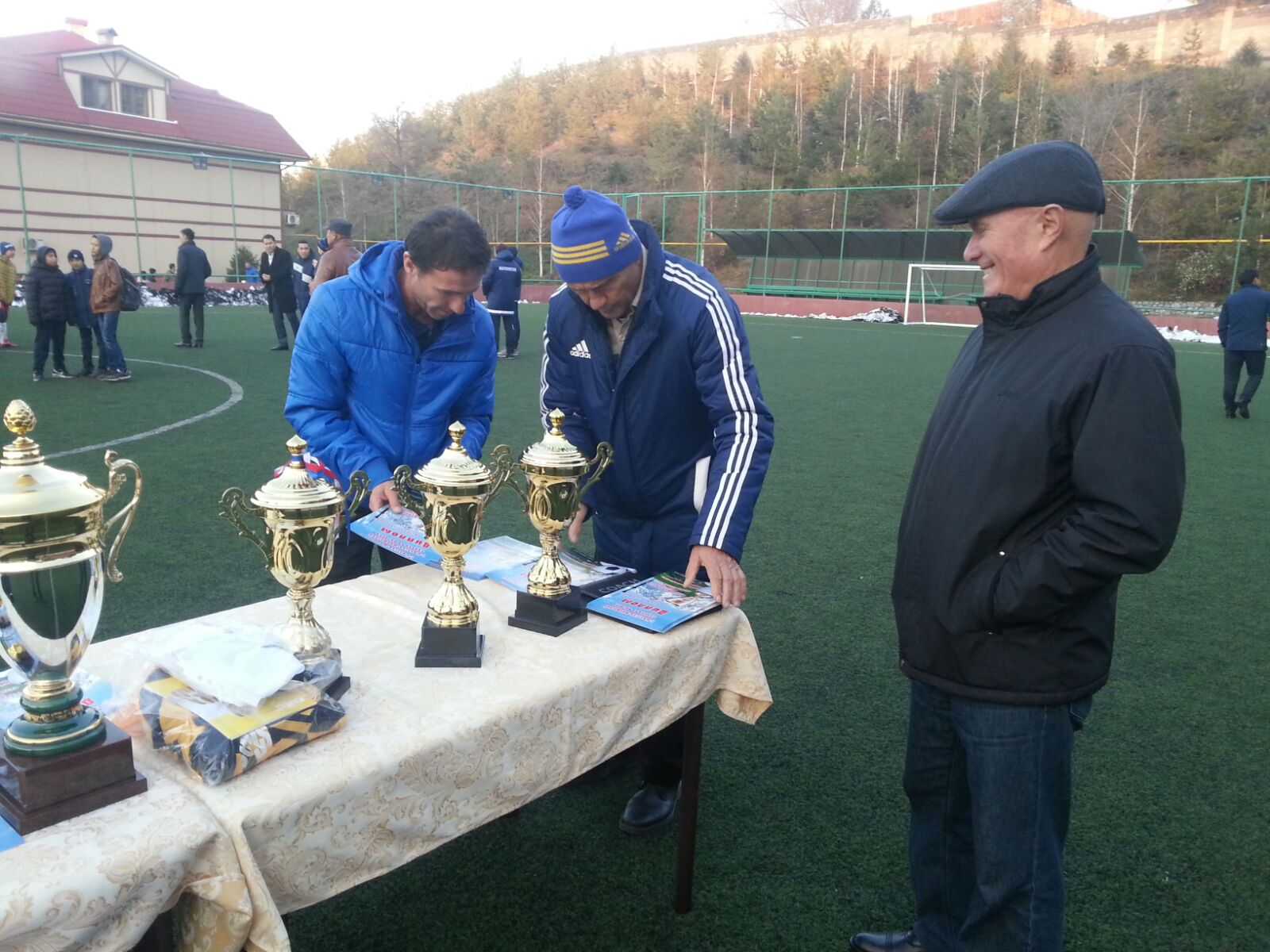 Подготовка к церемонии награждения