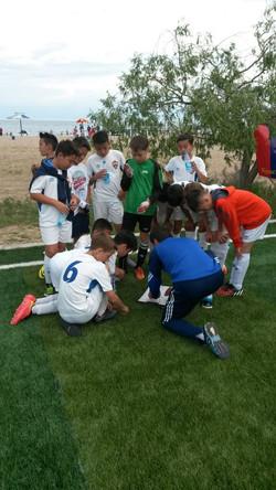 Установка тренера перед матчем