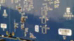 Printed Circuit Board (PCB) showing a Serial Number used for traceabiltiy purposes
