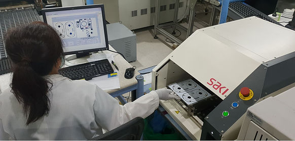 Automated Optical Inspection machine for printed circuit boads PCB