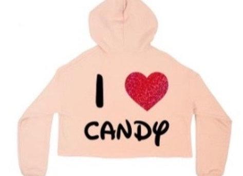 I Love Candy Hoodie