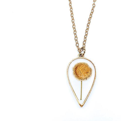 Daisy Drop Necklace