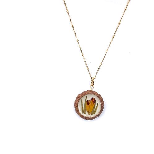 Harvest Acorn Necklace