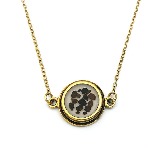 Ozark Sandstone Double Loop Necklace