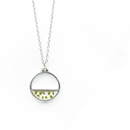 Queen Anne's Lace Seed Pendant