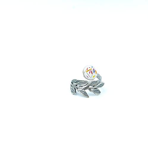 Flowerfetti Broad Leaf Ring