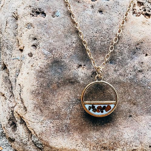 WS - Half Rock Necklace