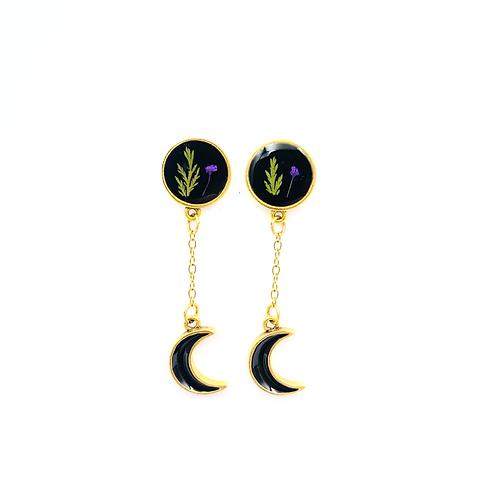 Dark Moon Earrings