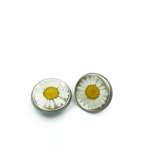 Daisy Cabinet Knobs Brushed Nickel