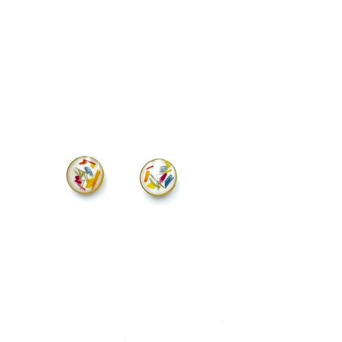 Flowerfetti Stud Earrings