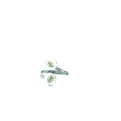 Double Plumosa Fern Ring