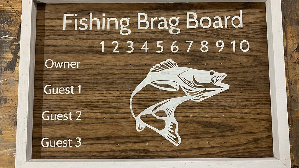 Fishing Brag Board