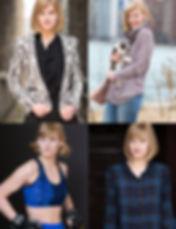Emma Paige Baker comp card Zoe McKenzie Photography