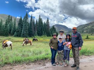 Lobo Outfitters, Horseback, Family Packtrips
