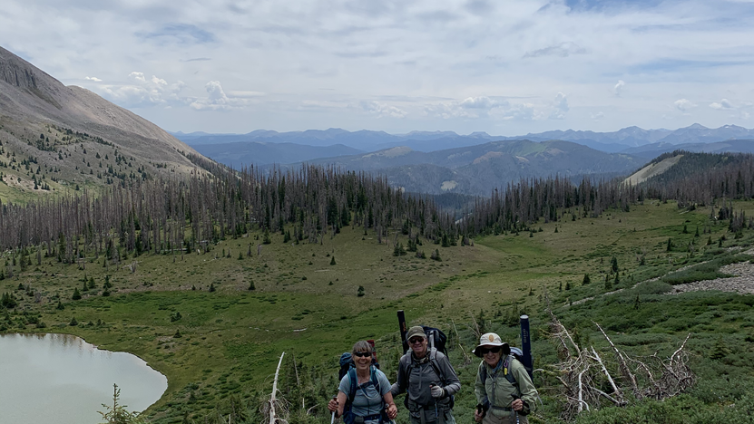 Lobo Outfitters, Packtrip, wilderness