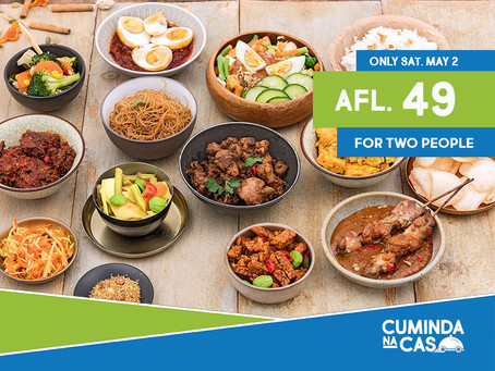 Yummy!! Indonesian 'Rijsttafel'