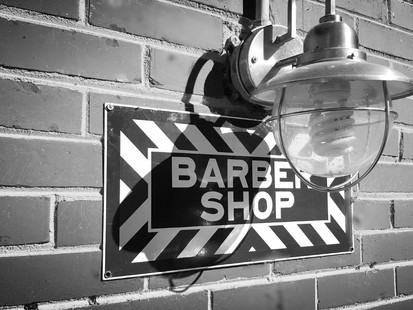 New Website for Chuck Simon's Barber Shop