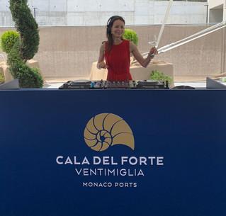 DJ SET @ Cala del Forte (Monaco Ports) opening ceremony