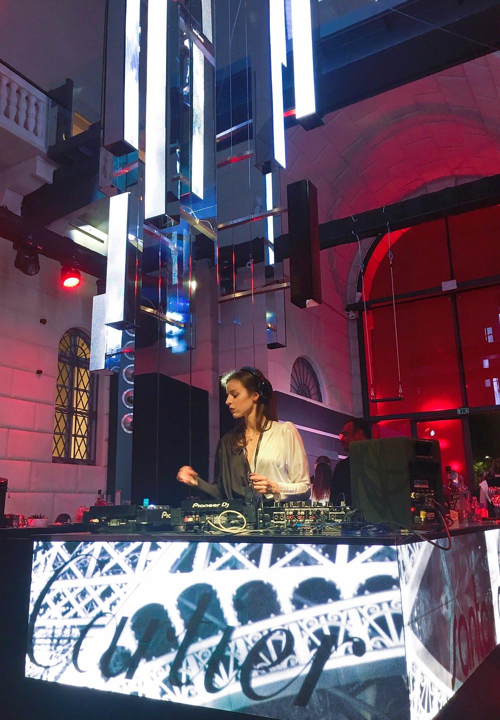 aggness dj, Cartier, Milan Design Week