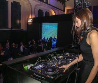 DJ set @ Audi E-Tron Experience