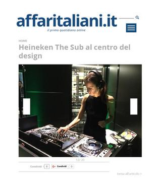 DJ Set @ Heineken ''THE SUB' Edition 2015