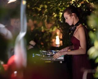 DJ set @ Pasquale Bruni event at Hotel De Russie in Rome