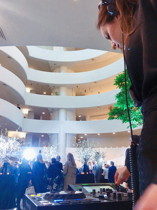 DJ Set @ Guggenheim Museum - New York City , US