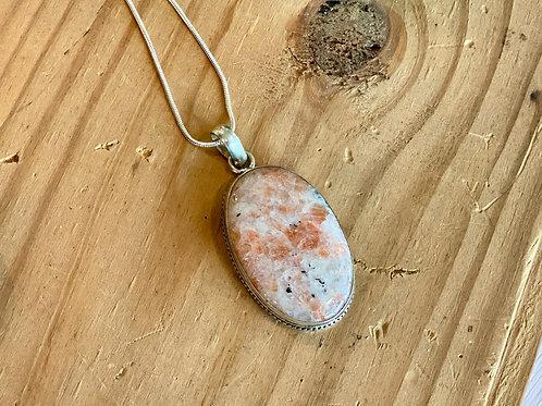 Sunstone Turkish Necklace