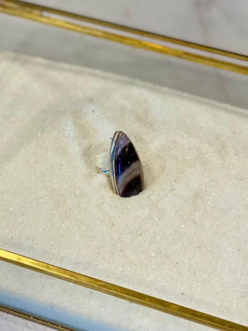 Amethyst Lace Turkish Ring