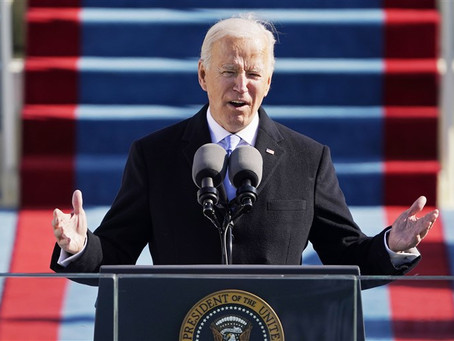 The Common Objects of Our Love – Biden's Inauguration Speech