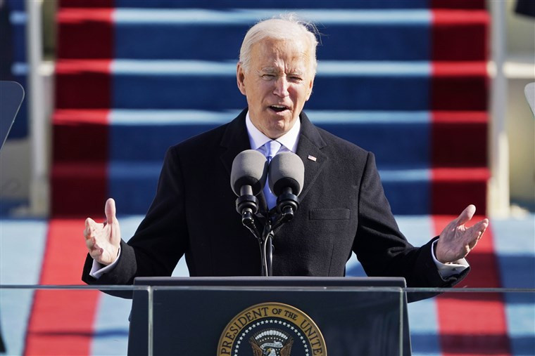 Joe Biden Inauguration address