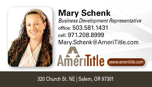 AmeriTitle Business Cards