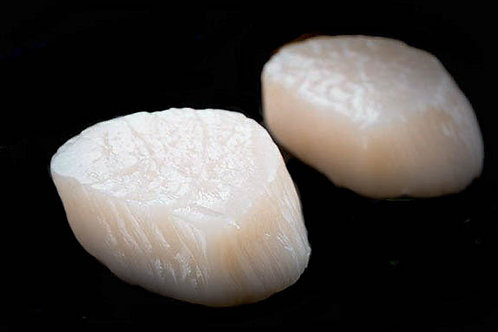Shark Bay Scallop Meat Roe Off Large 1kg