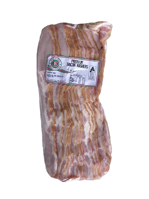 Rindless Bacon 2.5kg