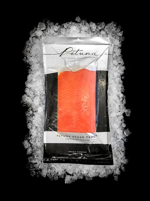 Tasmanian Cold Smoked Ocean Trout 500gm