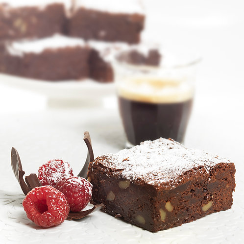 Chocolate Brownie Tray 1.3kg (15 Slices)