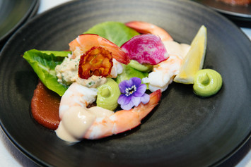 be giving event - prawns